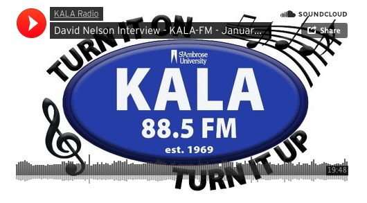 David Nelson Interview on KALA Radio